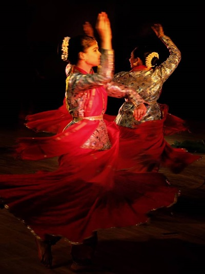 Of Salangai and Ghungroo - The meeting of Bharatanatyam and Kathak classical Indian Dance Forms